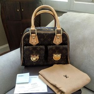 LOUIS VUITTON Manhattan PM EXCELLENT Cond
